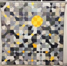 Reflections in Grey  The quilt that was juried into QuiltCon!