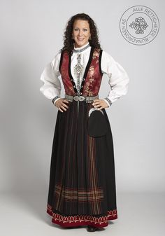 Sognebunad til dame - BunadRosen AS Victorian, Costumes, Scandinavian, Dresses, Folk, Google Search, Fashion, Victorian Dresses, Gowns