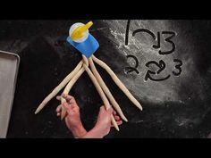 How To: Braid a 5-Strand Challah w/Michael Kalanty - YouTube