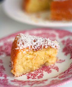 Kostea kookoskakku | Maku Food N, Good Food, Baking Recipes, Cake Recipes, Finnish Recipes, Bakewell Tart, Cake Business, Something Sweet, Sweet Bread