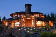 like a grown up Hobbit House 30 Outstanding Wooden Houses