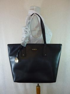 9dac5a45b28 Furla Black Leather New Daisy Onyx Tote Bag. Get one of the hottest styles  of