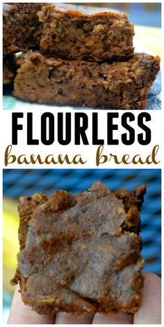 Flourless Banana Bread. No added sugar. No oil. No Butter. But I promise that you will love it!