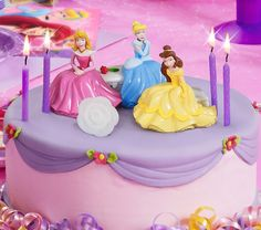 Disney Princess Garden Royalty Cake Topper
