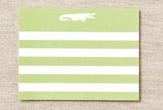 Love it - Alligator Striped Flat Notes on OneKingsLane.com