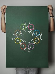 circling bicycles / bikes (Kreisende Fahrräder / Räder)