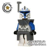 LEGO Star Wars Mini Figure - Captain Rex with Helmet Antenna (firestartoys, 2013)