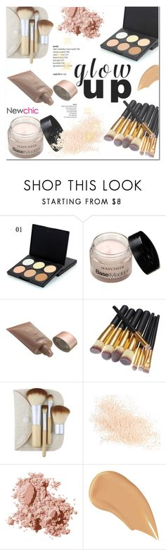 """Newchic Beauty/Glow Up: Glam Highlighters"" by helenevlacho ❤ liked on Polyvore featuring beauty, Eve Lom, Bobbi Brown Cosmetics, NARS Cosmetics, contestentry, beautyset and glowup"