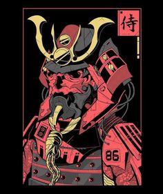 INSOMNIA Kabuto Samurai, Ronin Samurai, Samurai Art, Character Concept, Concept Art, Character Design, Doodle Art, Futuristic Samurai, Japanese Warrior