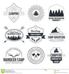 vintage summer camp LOGOS - Google Search