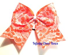 Full Lace Cheer Bows