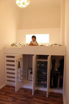 Kinderzimmer Einrichtung mit effektiven Methoden zum Raumsparen