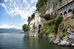 Christian Monastery of Caterina, Lago Maggiore, Italy