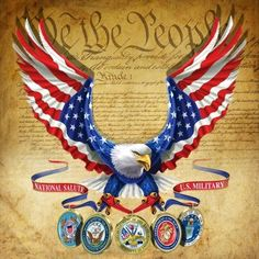 We The People... support our military and veterans! too bad our Muslim-in-Chief doesn't....