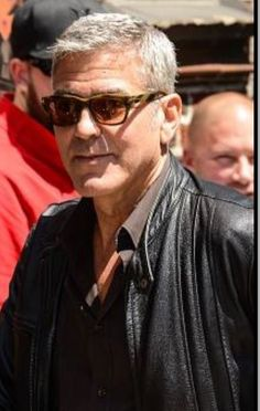 9afce861be4e George Clooney wearing Tom Ford Snowden