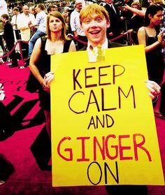 Rupert Grint!! #ginger #keepcalm