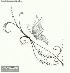 Diseño/Plantilla tatuaje Insectos
