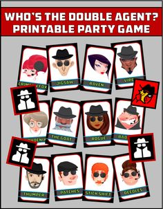 Awesome DIY spy party games and secret agent themed activities that you can use to make your child's spy party a blast! Spy Kids Party, Spy Birthday Parties, Superhero Birthday Party, Secret Agent Activities For Kids, Spy Games For Kids, Secret Agent Games, Secret Agent Party, Motto, Detective Theme