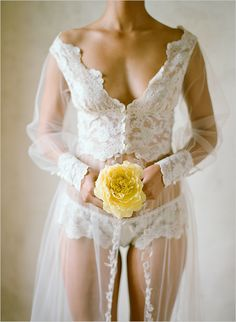 'Camelot' Robe: Heirloom by Claire Pettibone http://www.clairepettibone.com/heirloom/?h=2012/camelot Photo: @Elizabeth Messina for @Munaluchi Bride via @Wedding Chicks