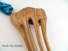 This wood hair fork is amazingly comfortable and will hold your long thick hair up well while looking stunning,BOLD and beautiful.**Our forks will not disappear in your hair, they are meant to be seen