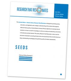 *Research that Resonates* Check out reports on the #SEEDS children. #LN http://ow.ly/yVtnr  http://ow.ly/yVvWG  #education #edchat