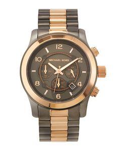 Michael Kors Watch - Gunmetal/Rose Gold