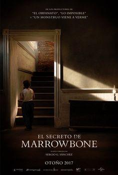 cartel oficial de El Secreto de Marrowbone, título de terror dirigido por Sergio G. Sánchez que estará en los cines el próximo otoño.
