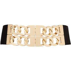 2b bebe Chain Link Stretch Waist Belt Chain Belts, Link, Accessories, Bebe, Jewelry Accessories