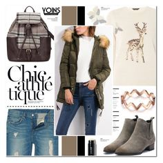 """""""Yoins 29"""" by anyasdesigns ❤ liked on Polyvore featuring Dorothy Perkins, Arche and Bobbi Brown Cosmetics"""