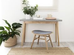 Nava Console Table - from Mocka.    Thinking for family room.