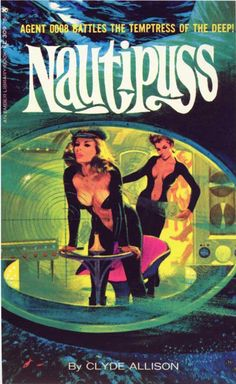 Pulp fiction book covers - Nautipuss curated