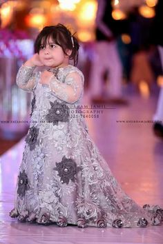 Pakistani Baby Girls Fancy Dresses For Birthday Party, Weddings Girls Fancy Dresses, Wedding Dresses For Kids, Baby Girl Dresses, Baby Dress, Bridal Dresses, Baby Girls, Kids Frocks, Frocks For Girls, Kids Gown