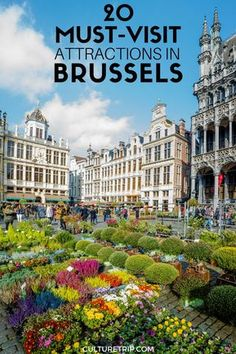20 Must Visit Attractions in Brussels, Belgium by The Culture Trip. Oh The Places You'll Go, Cool Places To Visit, Places To Travel, Travel Destinations, Voyage Europe, Brussels Belgium, Solo Travel, Travel Tips, Travel Ideas