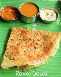 Learn how to make south Indian breakfast - crispy rava dosa with step by step pictures and full video!
