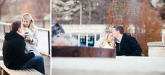 Sabrina and Chris' Steinberg Skate Rink Engagement Session | St. Louis Wedding Photography | Documentary Photographer | Erin Stubblefield Weddings and Portraiture | Photojournalist | Engagement Shoot Ideas | Pose Ideas | Forest Park Ice Skating