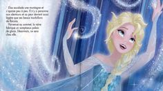 """Raconte moi l'histoire de... La Reine des neiges.  The story of """"Frozen"""" told in French with excerpts of the songs.  All in French."""