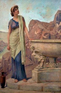 The Summit - Henry Ryland (1856–1924)