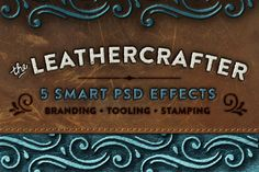 The Leathercrafter - Smart PSD by Ornaments of Grace on Creative Market