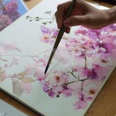 Demonstration in Bangkok. #watercolor #art #artist #paint #painting…