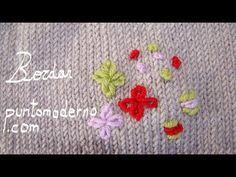 BORDADO SOBRE TEJIDO - YouTube Knitting Dolls Clothes, Doll Clothes, Knitting Videos, Knots, Coin Purse, Elsa, Embroidery, Baby Dresses, Google