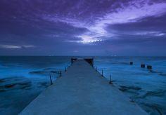 Night Pier in Thailand