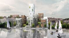 Mixed-use project focusing on revitalising suburbian space