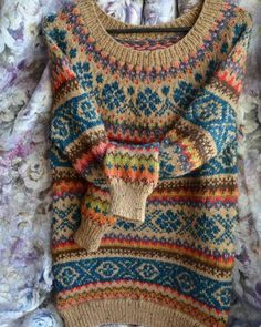 The 25+ best Fair isle knitting