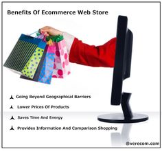 This image shows the benefits of the ecommerce web store.