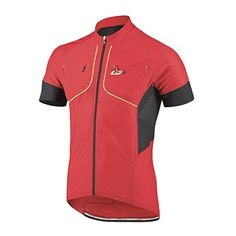 Louis Garneau Mens Evans GT Cycling Jersey Small Ginger -- Continue to the product at the image link. (Note:Amazon affiliate link) #CyclingJersey