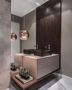 The Basic Principles of Modern Bathroom Interior Design You Will be Able to Benefit From Beginning Right Away - peca Bad Inspiration, Bathroom Inspiration, Bathroom Ideas, Bathroom Grey, Warm Bathroom, Bathroom Vanities, Small Bathroom, Bathroom Storage, Cream Bathroom