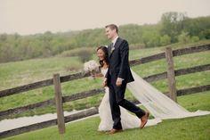 Rustic DIY Michigan Wedding
