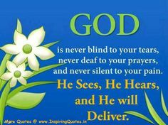 god delivers quotes | Inspirational Quotes About God