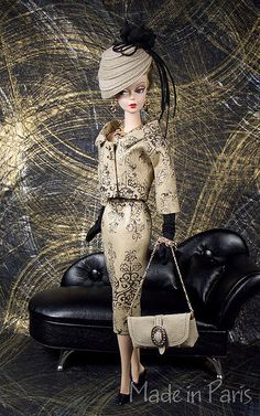 Affordable Luxury Black Ensemble by MADE in PARIS CREATIONS by MADEinPARIS, via Flickr