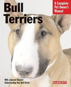 Bull Terriers Manual. Yea you really gotta own one before you really know what they're all about. And even then they will constantly surprise you, keep you guessing and keep you laughing!!
